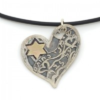 Seal upon thy heart necklace